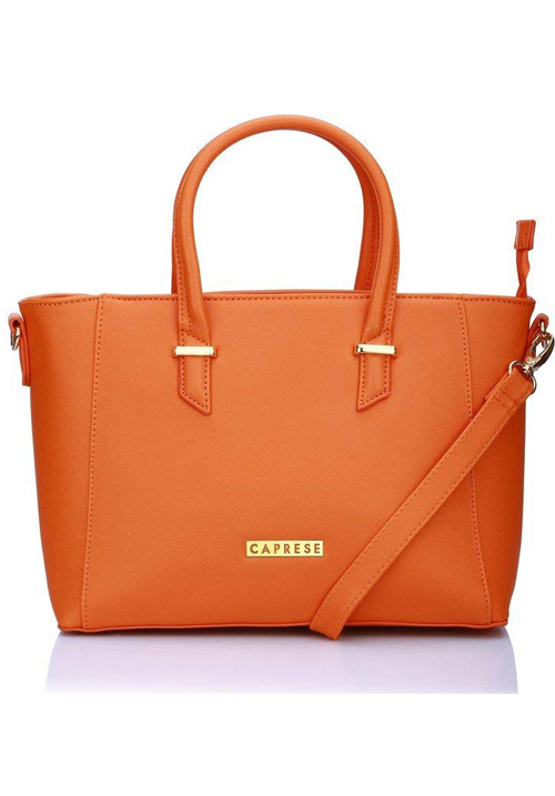 Caprese Porsche Tote Bag Orange