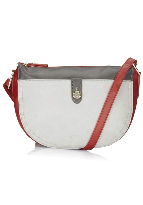 Caprese Women Sling Bag Red