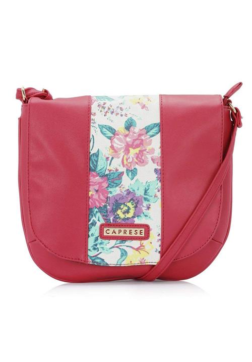 Caprese Women Sling Bag Pink