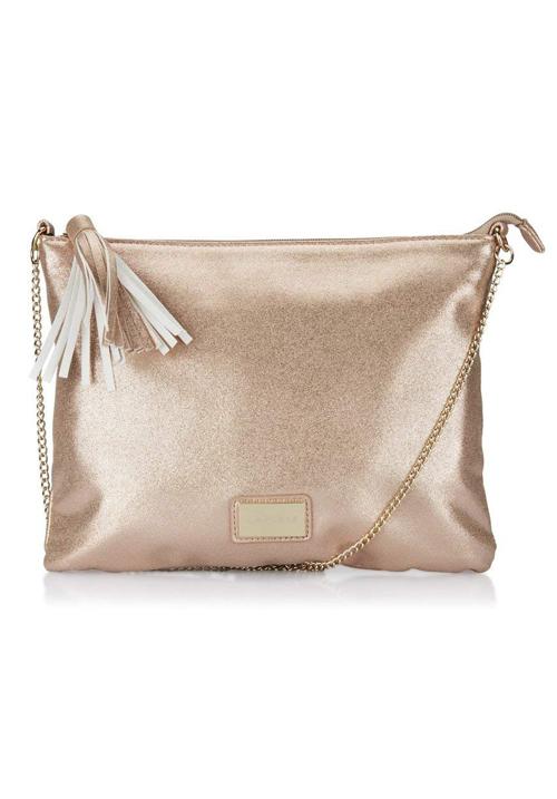Caprese Women Sling Bag Rose Gold