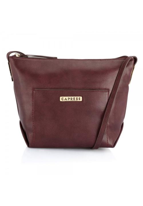 Caprese Women Sling Bag Burgundy