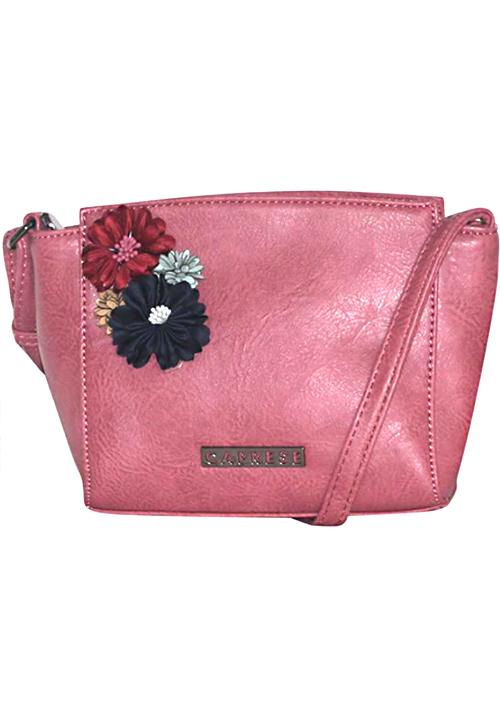 Caprese Petal Sling Bag Pink