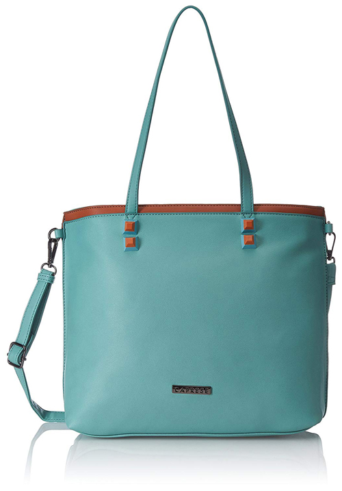 Caprese Tote Aquamarine Bag