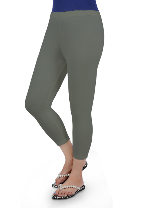 Femigo Steel Grey Color Capri F-06