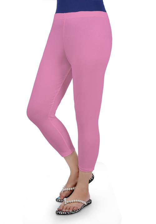 Femigo Baby Pink Color Capri F-09