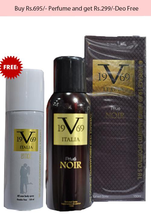 Versace Prive Noir Perfume