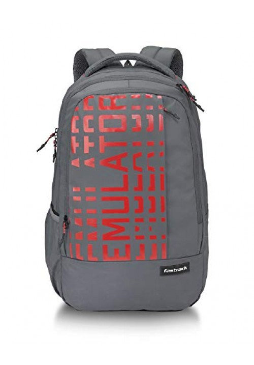 Fastrack 36 Ltrs Grey Casual Backpack