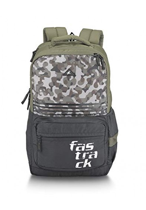 Fastrack 35 Ltrs Olive Casual Backpack
