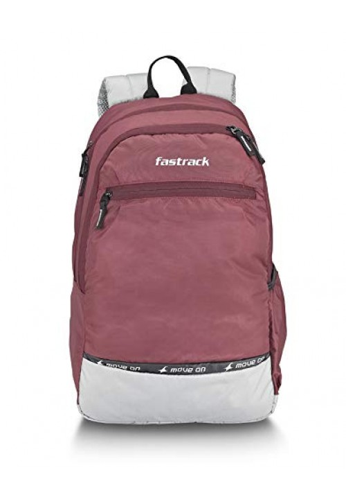 Fastrack 30 Ltrs Brown Casual Backpack