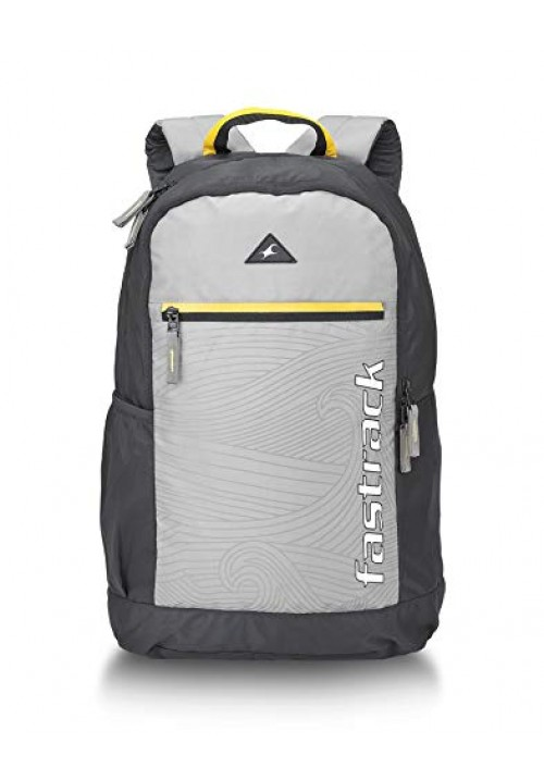 Fastrack 25 Ltrs Grey Casual Backpack