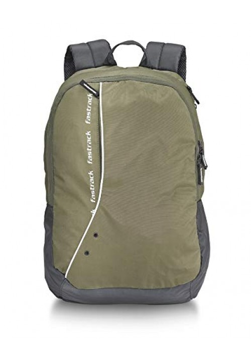 Fastrack 48.3cms Olive Casual Backpack