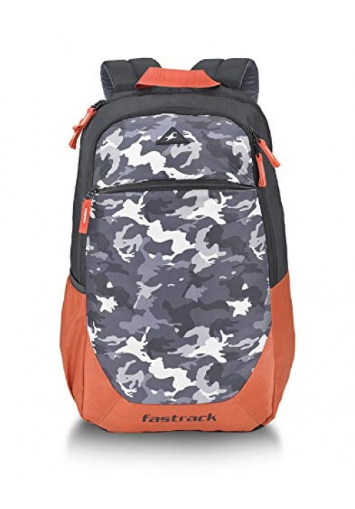 Fastrack 30 Ltrs Orange Casual Backpack