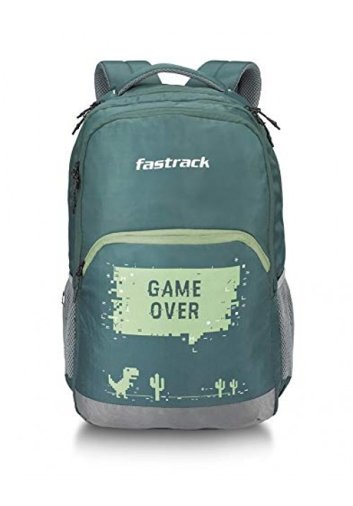 Fastrack 40 Ltrs Green Casual Backpack