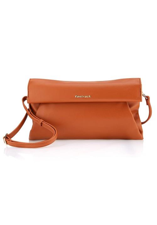 Fastrack Bergen Women's Sling Bag (Brown)
