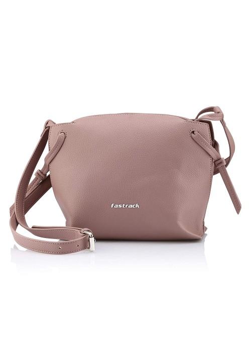 Fastrack Queens Women's Sling Bag (Pink)
