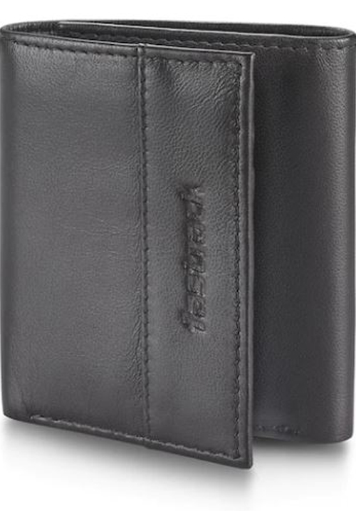 Fastrack Tan Leather Trifold Wallet