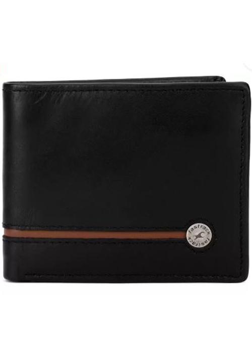 Fastrack Black Genuine Leather Wallet