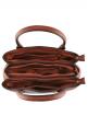 Fastrack Brown Mosholu Tote Bag