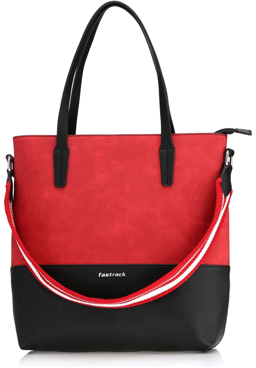 Fastrack Red Milford Tote Bag