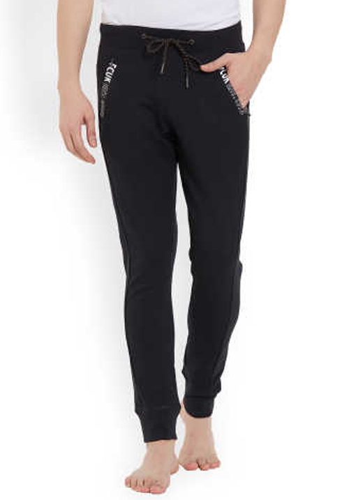 Fcuk Men Knit Pant Black FKPA04