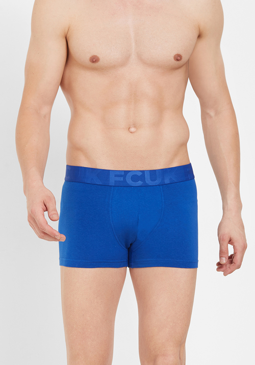 FCUK Underwear Solid Trunk CTR20