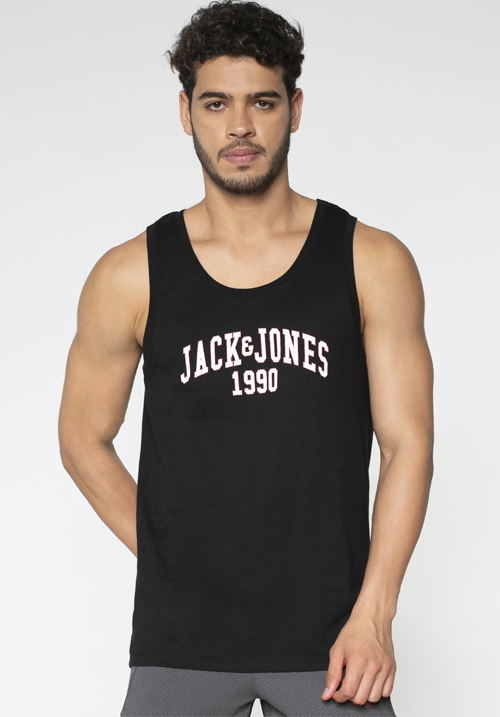 Jack & Jones Cotton Printed Vest