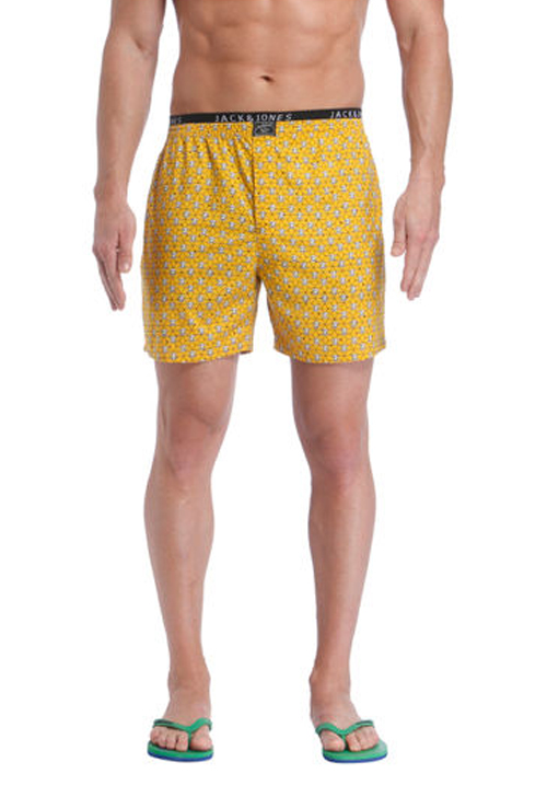 Jack and Jones Skull Print Boxer