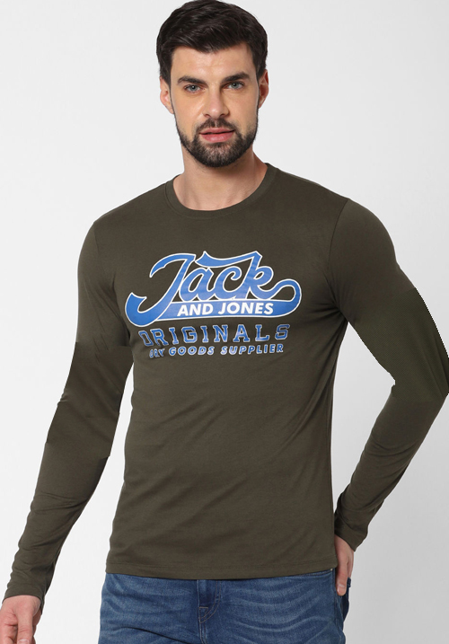 Jack and Jones Multi Print T-shirt