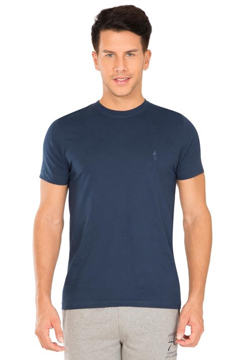 Jockey Round T-Shirt Navy 2714