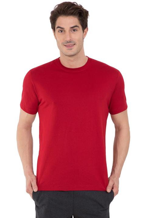 Jockey Round T-Shirt Red 2714