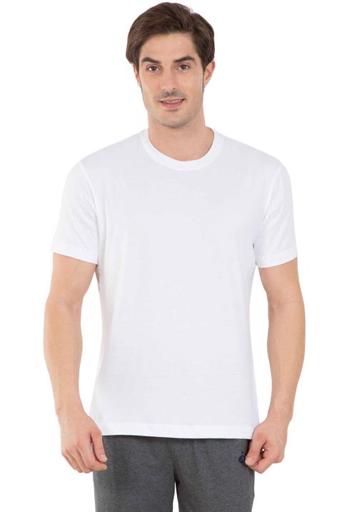 Jockey Round T-Shirt White 2714