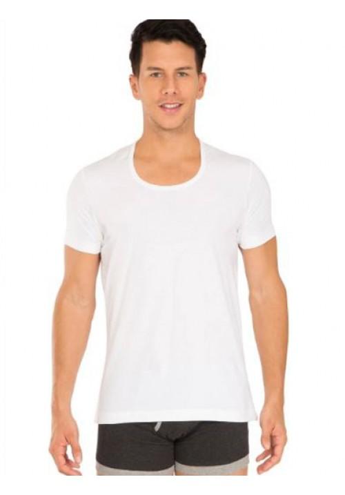 Jockey White Round Neck Undershirt 8826