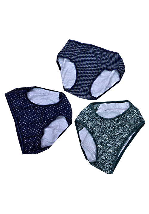 Juliet 3 Piece Panties Set 5394