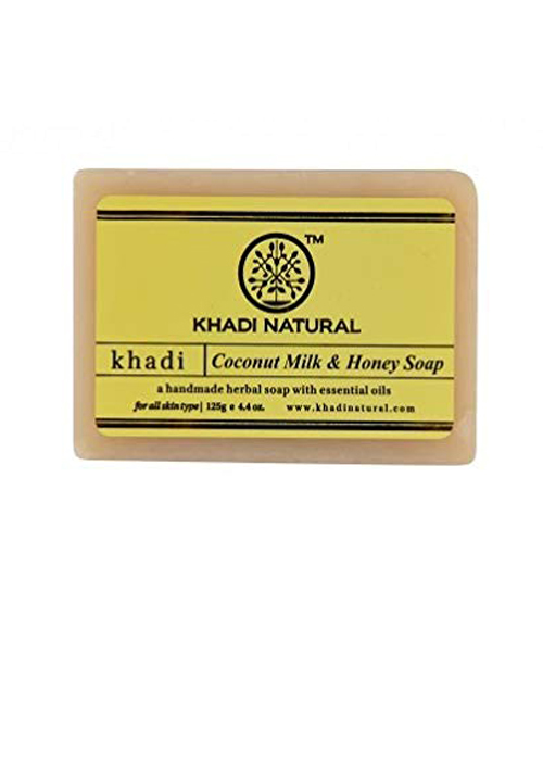 khadi Natural coconut milk and honey soap