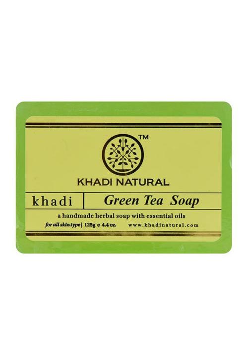 Khadi Natural Herbal Green Tea Soap