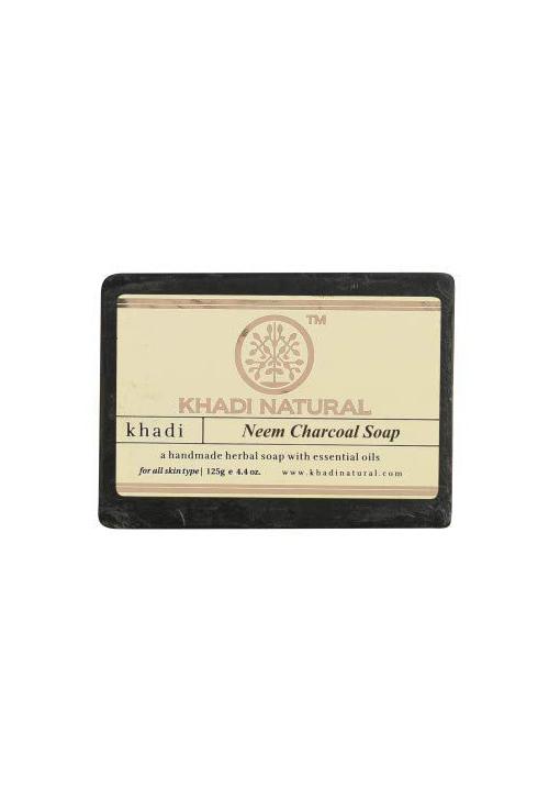 Khadi Natural Herbal Neem Charcoal Soap