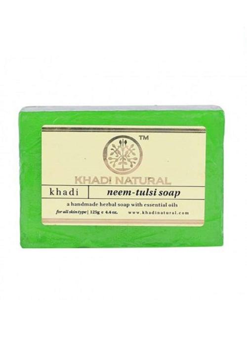 Khadi Natural Herbal Neem Tulsi Soap