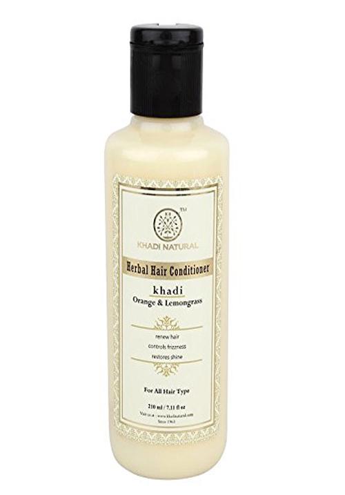 Khadi Natural Orange Lemongrass Herbal Hair Conditioner