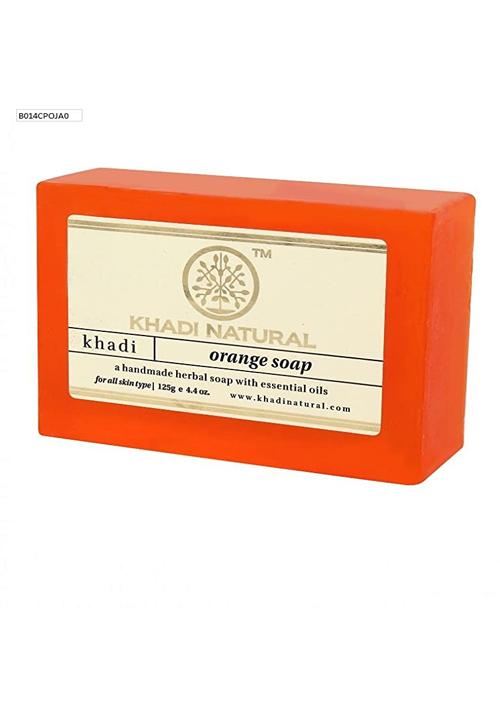 Khadi Natural Orange Soap
