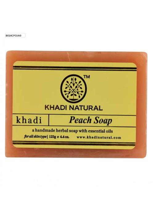 khadi natural Peach soap