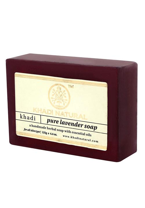 Khadi Natural Pure Lavender Soap