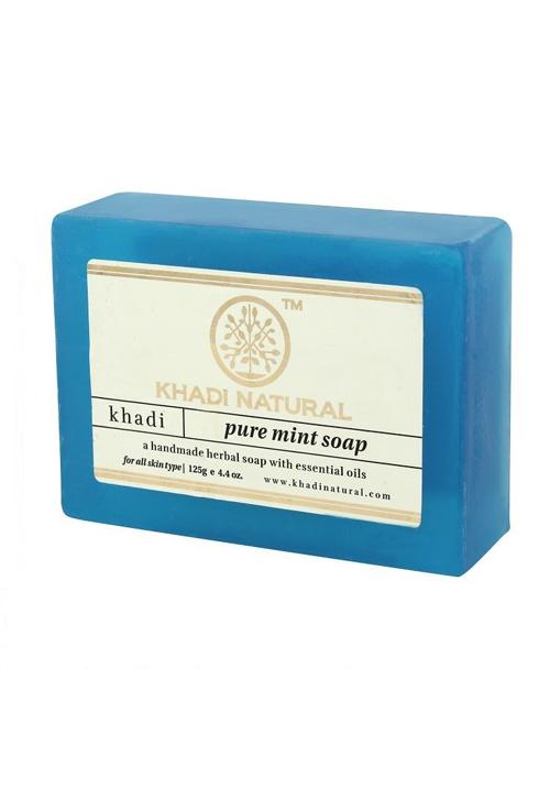 Khadi Natural Pure Mint Soap