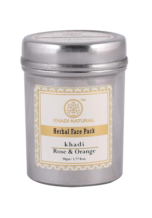 Khadi Natural Ayurvedic Rose and Orange Face Pack