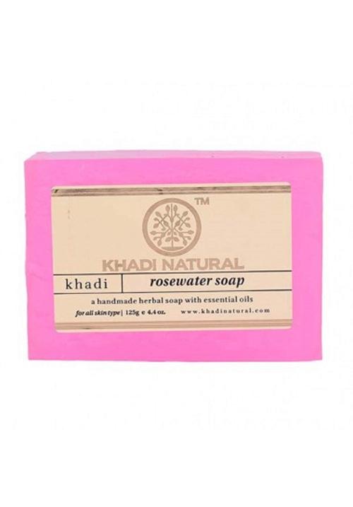 Khadi Natural Herbal Rose Water Soap
