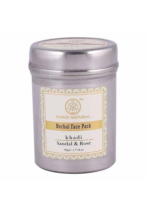 Khadi Natural Sandal and Rose Herbal Face Pack