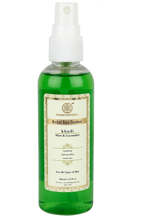 Khadi Natural Mint and Cucumber Face Fresher
