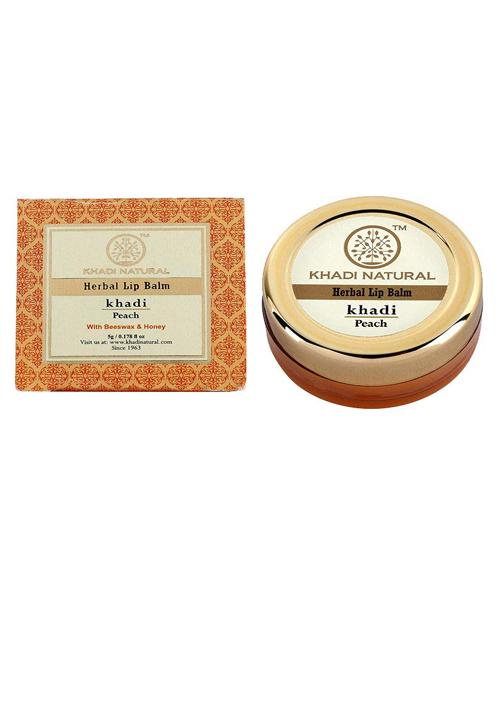 Khadi Naturals Peach Lip Balm