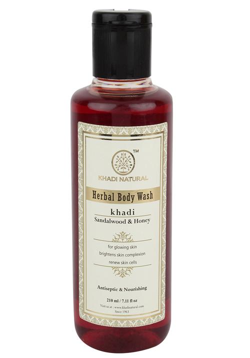 Khadi natural Sandalwood and Honey Body Wash