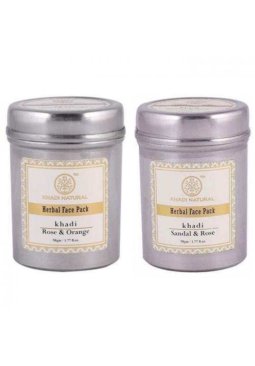 Khadi Natural Herbal Face Pack (Pack of two)