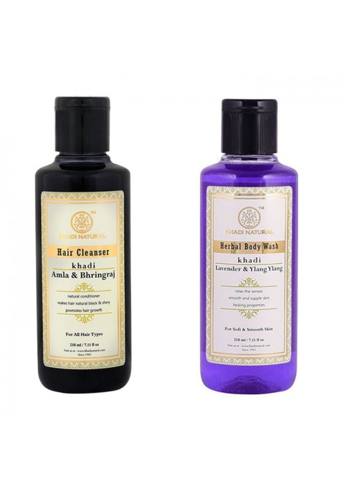 Khadi Natural Hair Cleanser and Bodywash